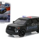2016 Ford Police Utility Interceptor Fishers Indiana 1/64 Diecast Model Car  by Greenlight