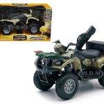 Suzuki Vinson 4×4 500 Quad Runner Green ATV Motorcycle 1/12 Diecast Model by New Ray
