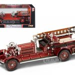 1925 Ahrens Fox N-S-4 Fire Engine Red 1/43 Diecast Car Model by Road Signature