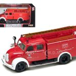 1961 Magirus Deutz Mercur TLF-16 Red/White 1/43 Diecast Model Car by Road Signature