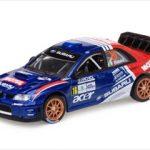 Subaru Impreza WRC07 #16 F.Babini/G.Bernacchini 2009 Rally Monza 1/43 Diecast Model Car by Vitesse