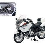 BMW R1200 RT-P U.S. Police Motorcycle 1/12 Model by New Ray