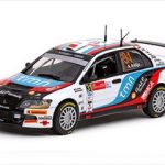 Mitsubishi Lancer IX #31 A.Araujo/M.Ramalho 2010 Rally Mexico Winner 1/43 Diecast Model Car by Vitesse