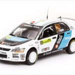 Mitsubishi Lancer IX #50 A.Araujo/M.Ramalho PWRC Acropolis Rally of Greece 2008 1/43 Diecast Car Model by Vitesse