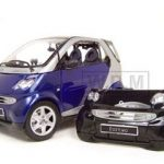 Smart For Two Coupe 1/18 Diecast Model Car by Maisto