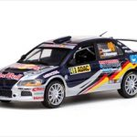 Mitsubishi Lancer Evolution IX #49 ADAC Rally Deutschland 2010 H.Gassner Jr./K.Wustenhagendie 1/43 Diecast Model by Vitesse