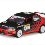 Mitsubishi Lancer Evolution IX #21 F.Nutahara/H.Ichino Barum Rally Zlin 2010 1/43 Diecast Model Car by Vitesse