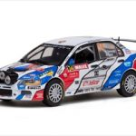 Mitsubishi Lancer Evolution IX #34 M.Semerad/M.Ernst Rally of Great Britain 2010 1/43 Diecast Model by Vitesse