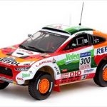 Mitsubishi Racing Lancer 2009 Rally Dakar 1/43 Diecast Model Car by Vitesse