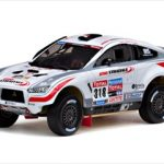 Mitsubishi Lancer #318 2010 Dakar Rally N.Misslin/J.M.Polato 1/43 Diecast Car Model by Vitesse