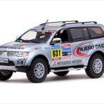 Mitsubishi Pajero Sport 2010 Dakar Rally Service Car 1/43 Diecast Model Car by Vitesse