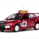 Mitsubishi Lancer Evolution X #00 Rally Japan 2007 Course Car 1/43 Diecast Model Car by Vitesse
