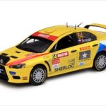 Mitsubishi Lancer Evolution X #64 M.Semerád/B.Ceplecha Pirelli Star Driver Rally of Great Britain 2009 1/43 Diecast Model by Vitesse