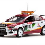 Mitsubishi Lancer Evolution X #00 2008 Rally Japan Course Car H.Miyoshi / S.Hayashi 1/43 Diecast Model Car by Vitesse