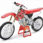 2008 Honda CRF450R Red Bull Racing Dirt Motorcycle 1/12 by New Ray