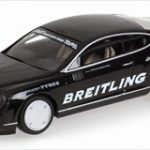 2007 Bentley Continental GT World Record Car On Ice 321km/h 1/43 Diecast Model Car by Minichamps