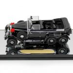 1938 Mercedes G4 Black 1/43 Diecast Car Model by Signature Models