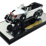 1938 Mercedes G4 White 1/43 Diecast Car Model by Signature Models