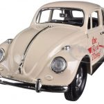 1966 Volkswagen Beetle Coca Cola The Real Thing 1/24 Diecast Car Model by Motorcity Classics