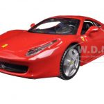 Ferrari 458 Italia Red 1/32 Diecast Model Car by Bburago