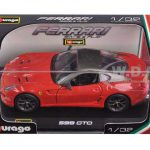 Ferrari 599 GTO Red 1/32 Diecast Model Car by Bburago