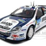 Citroen Xsara WRC OMV Kronos Carlsson/Giraudet #6 2007 Rally Sweden 1/18 Diecast Car Model by Sunstar