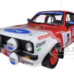 Ford Escort RS1800 #3 R.Droogmans/R.Joosten Bianchi Rally 1982 1/18 Diecast Model Car by Sunstar