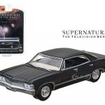 1967 Chevrolet Impala Sedan 4 Doors Black From Supernatural 2005 Current TV Series 1/64 Diecast Model by Greenlight