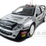 Citroen Xsara WRC #11 P.Solberg/P.Mills 2009 Rally 1 of 3000 Made Petter Solberg Signature Edition 1/18 Diecast Car Model by Sunstar