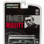 1968 Ford Mustang GT Fastback Green Bullitt Steve McQueen (1968) 1/64 Diecast Model Car by Greenlight