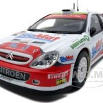 Citroen Xsara WRC #8 Kris Meeke Botogna Motor Show 2006  Bettega Memorial Rallysprint 1 of 888 Produced 1/18 Diecast Car Model by Sunstar