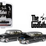 1955 Cadillac Fleetwood Series 60 Special The Godfather (1972) 1/64 Diecast Model Car  by Greenlight