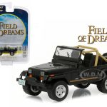 1987 Jeep Wrangler YJ Field of Dreams (1989) Movie 1/64 Diecast Model Car by Greenlight