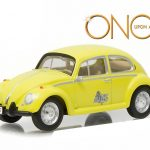 Emmas Volkswagen Beetle Yellow Once Upon a Time TV Series (current) 1/64 Diecast Model Car by Greenlight