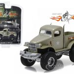 1941 Military 1/2 Ton 4×4 Pick Up Truck Sgt. Rock  Stacey Davids Geraz (2010-Current) TV Series 1/64 Diecast Model Car by Greenlight