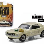 1967 Ford Mustang Coupe Sophia Message Car with Accessories The Walking Dead (2010-Current) TV Series  1/64 Diecast Model Car  by Greenlight