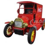 1917 Ford Model T Coca Cola Delivery Truck Red 1/24 Diecast Car Model by Motorcity Classics