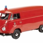Volkswagen T1 Kasten Feuerwehr Berlin Fire Engine Limited to 1000pc 1/18 Diecast Model Car by Schuco