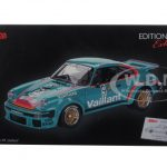 Porsche 934 RSR Vaillant #9 Green 1/18 Diecast Model Car by Schuco
