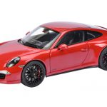 Porsche 911 Carrera GTS Coupe Red 1/18 Diecast Model Car by Schuco
