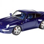 Porsche 991 (993) Turbo Blue Limited to 750pc 1/43 Diecast Model Car by Schuco