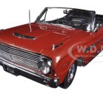1963 Ford Falcon Open Convertible Chestnut Poly 1/18 Diecast Car Model by Sunstar