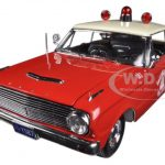 1963 Ford Falcon Philadelphia Police 1/18 Diecast Car Model by Sunstar
