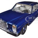 Mercedes Strich 8 Coupe Blue Platinum Edition 1/18 Diecast Car Model by Sunstar