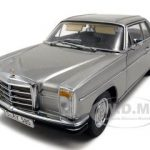 Mercedes Strich 8 280C Coupe Metallic Gray Platinum Edition 1/18 Diecast Model Car by Sunstar