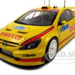 Peugeot 307 WRC G.Galli/G.Bernacchini 1/18 Diecast Model Car by Sunstar