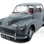 1956 Morris Minor 1000 Saloon Gray 1/12 Diecast Car Model by Sunstar