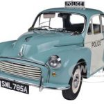 1963 Morris Minor 1000 UK Police Panda Car 1/12 Diecast Model Car by Sunstar