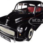 1965 Morris Minor 1000 Saloon Black 1/12 Diecast Car Model by Sunstar