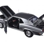 Briggs & Stratton 1969 Chevrolet Camaro Z28 Gray with Black Stripes 1/25 Diecast Model Car by First Gear
